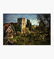 Goring on Thames Village Photographic Print