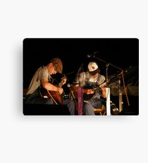 Live, On Stage Canvas Print