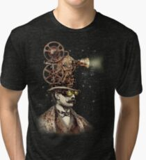 The Projectionist (sepia option) Tri-blend T-Shirt