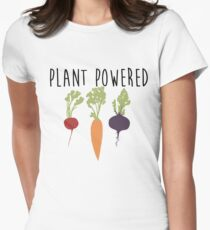 Plant Powered - Vegan Women's Fitted T-Shirt