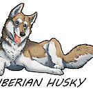Husky love - Tan by aunumwolf42