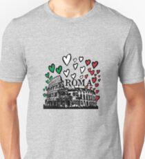 Roma flying hearts T-Shirt