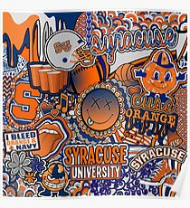 Syracuse Collage Poster
