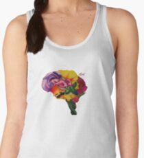 Floral Brain Women's Tank Top