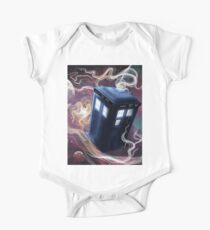 TARDIS In The Time Vortex One Piece - Short Sleeve