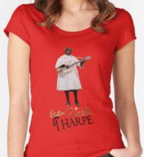 Camiseta entallada de cuello redondo HERMANA ROSETTA THARPE ROCK N ROLL