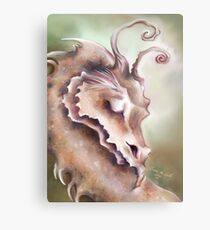 Sleeping Dragon - Peace and Tranquility Metal Print