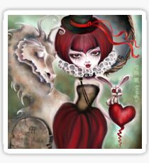 Dragon Lady - Graveyard Grenda & Dragon Sticker