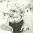 Small portrait study of my father.. by Sebastiaan Koenen