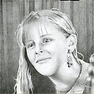 Portrait study by Sebastiaan Koenen