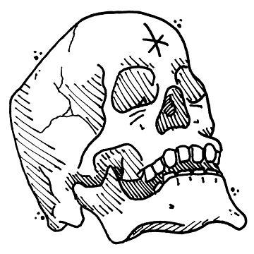 Skull #2 by KRAPUUL