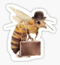 Worker Bee Sticker