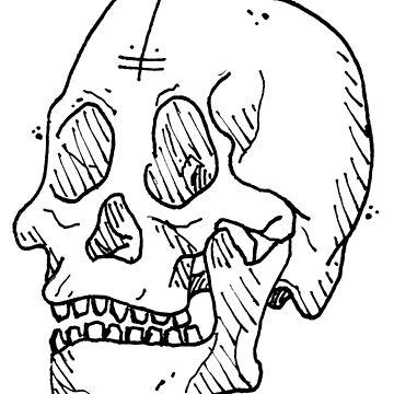 Skull #1 by KRAPUUL