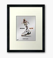 Elite Lebron Framed Print