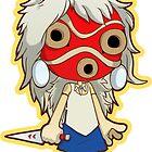Princess Mononoke Masked by Smars