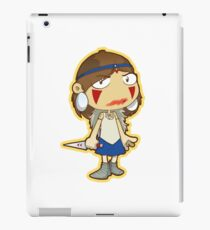 Princess Mononoke blood smear iPad Case/Skin