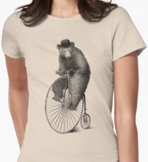 Morning Ride Women's Fitted T-Shirt