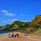 Lower Eype Beach . Dorset. UK by lynn carter