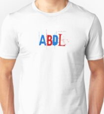 ABDL - Red & Blue Scribble Unisex T-Shirt