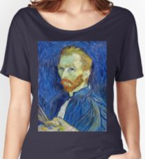 Vincent van Gogh Self-Portrait Women's Relaxed Fit T-Shirt