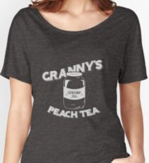 Granny's Peach Tea White Women's Relaxed Fit T-Shirt