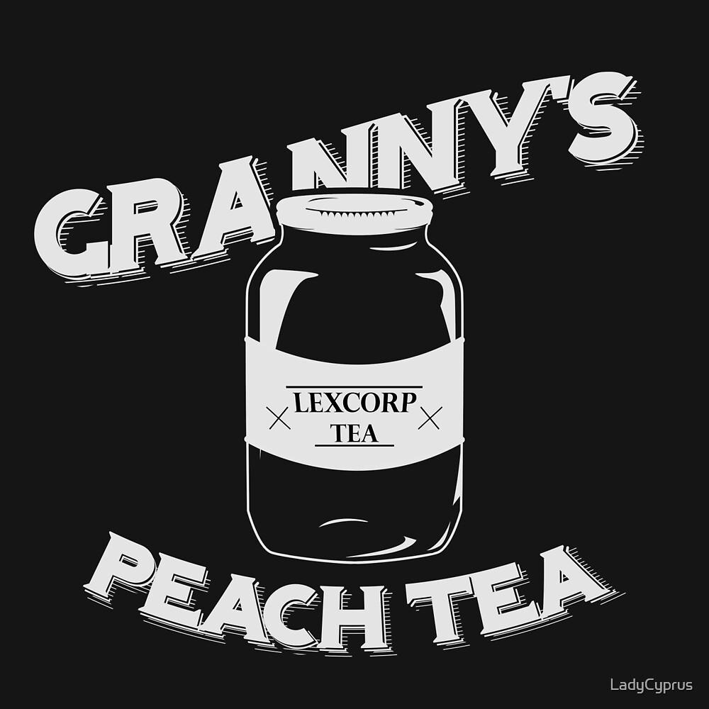 Granny's Peach Tea White by LadyCyprus