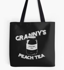 Granny's Peach Tea White Tote Bag