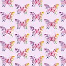 BUTTERFLY BUTTERFLIES RAINBOW PEACE HIPPIE by MyHandmadeSigns