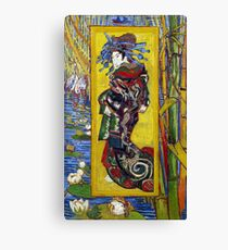 Vincent van Gogh Courtesan Canvas Print