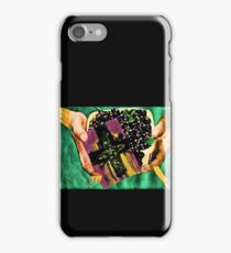 He left berries and a card for his son Brendan iPhone Case/Skin