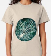 Dendritic tree and spines of an hippocampal neuron - Nebula Classic T-Shirt
