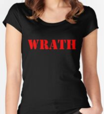 WRATH Women's Fitted Scoop T-Shirt