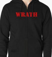 WRATH Zipped Hoodie