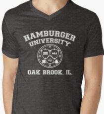 Hamburger University in White T-Shirt