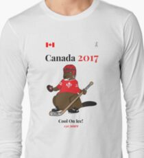 Canada 150, Canada 2017 & Canada Day Shirts & Souvenirs - Canadian Hockey, Curling, July 1 Party, Cool and Heritage Beaver Shirt Selection! T-Shirt