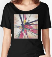 Abstract Geometry Women's Relaxed Fit T-Shirt