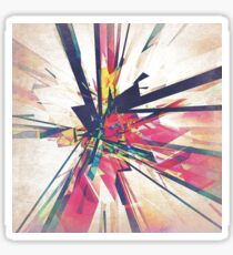 Abstract Geometry Sticker