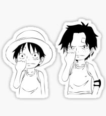 two pirate kids Sticker