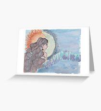 Sky Woman Greeting Card