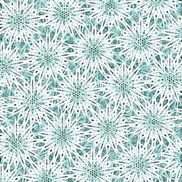 Electrified Snowballs Pattern by piciareiss