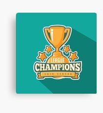 League Champions insignia Canvas Print
