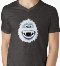 Hummelgesicht T-Shirt mit V-Ausschnitt für Männer