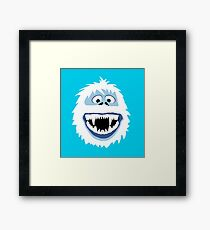 Bumble Face Framed Print