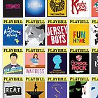 Playbill Collage by Beth Dunn