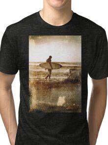 Vintage Surfer Tri-blend T-Shirt