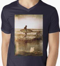 Vintage Surfer Men's V-Neck T-Shirt