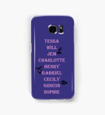 Infernal Devices Character Names Samsung Galaxy Case/Skin