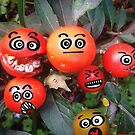 Attack of the Mini-Killer Tomatoes! by Maria  Gonzalez