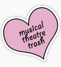Musical Theater Müll Sticker