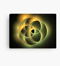 Earth Ovals Canvas Print